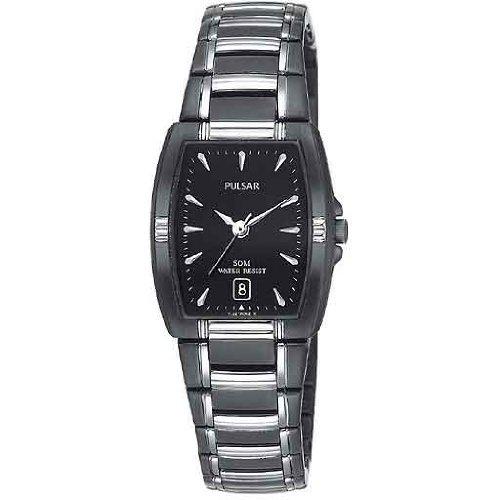 パルサー SEIKO セイコー 腕時計 レディース PH7055 Pulsar Women's PH7055 Dress Sport Black Ion Plated Stainless Steel Watchパルサー SEIKO セイコー 腕時計 レディース PH7055
