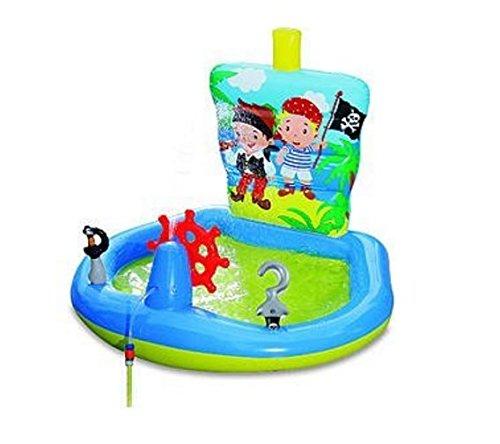 プール ビニールプール ファミリープール オーバルプール 家庭用プール Pirate Ship Play Center Inflatableプール ビニールプール ファミリープール オーバルプール 家庭用プール