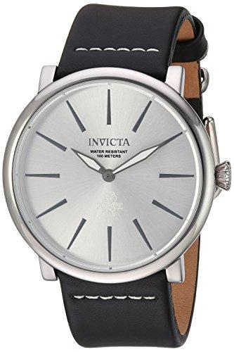 インヴィクタ インビクタ フォース 腕時計 メンズ Invicta Men's I- I-Force Stainless Steel Quartz Watch with Leather Calfskin Strap, Black, 24 (Model: 22932)インヴィクタ インビクタ フォース 腕時計 メンズ