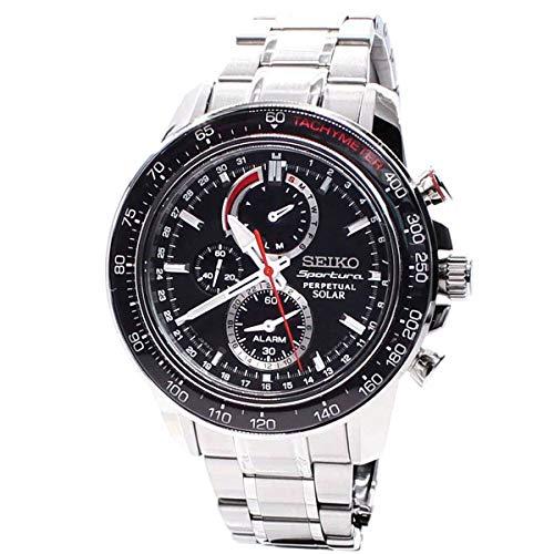 セイコー 腕時計 メンズ Seiko Men's Quartz Solar Watch SSC357セイコー 腕時計 メンズ