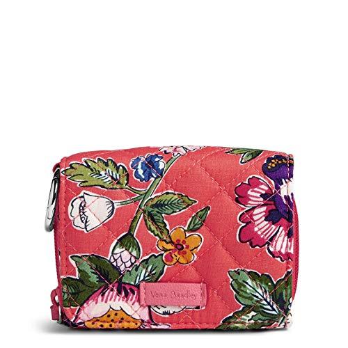 ヴェラブラッドリー パスケース IDケース 定期入れ ベラブラッドリー 【送料無料】Vera Bradley Women's Signature Cotton Card Case Wallet with RFID Protection, Coral Floralヴェラブラッドリー パスケース IDケース 定期入れ ベラブラッドリー