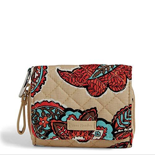 ヴェラブラッドリー パスケース IDケース 定期入れ ベラブラッドリー 【送料無料】Vera Bradley Women's Signature Cotton Card Case Wallet with RFID Protection, Desert Floralヴェラブラッドリー パスケース IDケース 定期入れ ベラブラッドリー