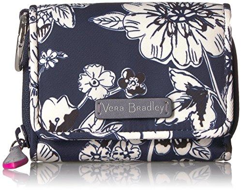 ヴェラブラッドリー パスケース IDケース 定期入れ ベラブラッドリー 【送料無料】Vera Bradley Women's Midtown Card Case Wallet with RFID Protection, Midnight Floralヴェラブラッドリー パスケース IDケース 定期入れ ベラブラッドリー
