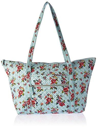 ヴェラブラッドリー パスケース IDケース 定期入れ ベラブラッドリー 【送料無料】Vera Bradley Women's Signature Cotton Miller Tote Travel Bag, Water Bouquetヴェラブラッドリー パスケース IDケース 定期入れ ベラブラッドリー