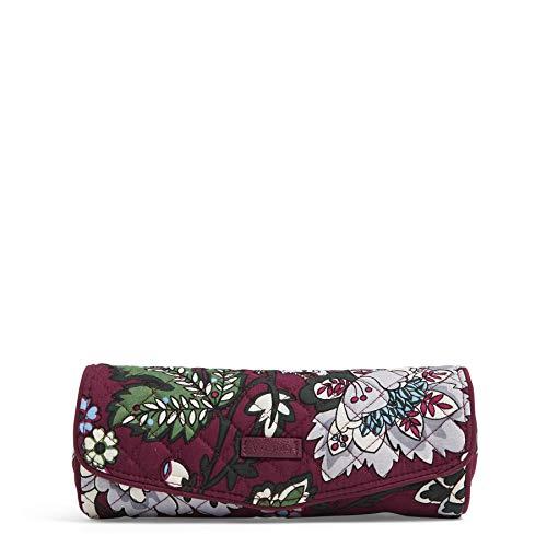 ヴェラブラッドリー パスケース IDケース 定期入れ ベラブラッドリー 【送料無料】Vera Bradley Women's Signature Cotton On a Roll Cosmetic Case, Bordeaux Blooms, One Sizeヴェラブラッドリー パスケース IDケース 定期入れ ベラブラッドリー