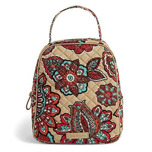 ヴェラブラッドリー パスケース IDケース 定期入れ ベラブラッドリー 【送料無料】Vera Bradley Women's Signature Cotton Lunch Bunch Lunch Bag, Desert Floral, One Sizeヴェラブラッドリー パスケース IDケース 定期入れ ベラブラッドリー