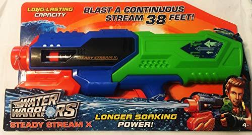 バズビー 水鉄砲 アメリカ 直輸入 ウォーターガン Water Warriors Steady Stream X Water Blaster Blasts up to 38 feetバズビー 水鉄砲 アメリカ 直輸入 ウォーターガン