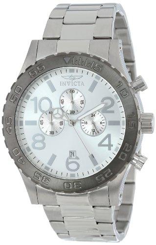 インヴィクタ インビクタ 腕時計 メンズ 【送料無料】Invicta Men's 15160 Specialty Chronograph Silver Tone Dial Stainless Steel Watchインヴィクタ インビクタ 腕時計 メンズ