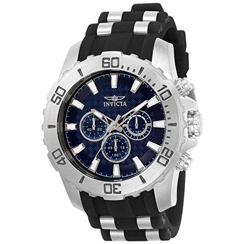 インヴィクタ インビクタ 腕時計 メンズ 【送料無料】Invicta Men's Pro Diver Stainless Steel Analog-Quartz Watch with Silicone Strap, Black, 26 (Model: 22559)インヴィクタ インビクタ 腕時計 メンズ