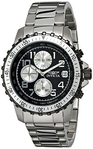 インヴィクタ インビクタ 腕時計 メンズ 【送料無料】Invicta Men's 6000 Pilot Collection Stainless Steel Chronograph Watchインヴィクタ インビクタ 腕時計 メンズ