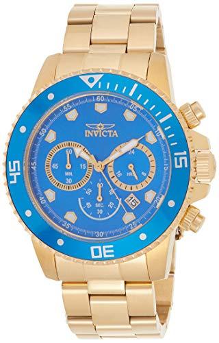 インヴィクタ インビクタ 腕時計 メンズ 【送料無料】Invicta Men's Pro Diver Quartz Diving Watch with Stainless-Steel Strap, Gold, 22 (Model: 21894)インヴィクタ インビクタ 腕時計 メンズ