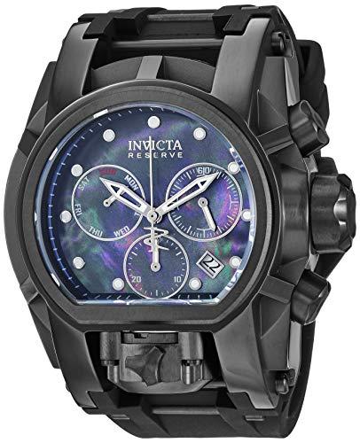 インヴィクタ インビクタ 腕時計 メンズ 【送料無料】Invicta Men's Reserve Stainless Steel Quartz Watch with Silicone Strap, Black, 25.75 (Model: 26712)インヴィクタ インビクタ 腕時計 メンズ