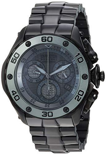 インヴィクタ インビクタ 腕時計 メンズ 【送料無料】Invicta Men's Reserve Quartz Stainless-Steel Strap, Black, 25.8 Casual Watch (Model: 26571)インヴィクタ インビクタ 腕時計 メンズ