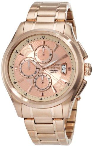 インヴィクタ インビクタ 腕時計 メンズ Invicta Men's 1485 Specialty Collection Chronograph Rose Dial 18k Rose Gold Ion-Plated Stainless Steel Watchインヴィクタ インビクタ 腕時計 メンズ