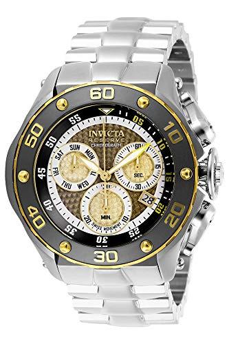 インヴィクタ インビクタ 腕時計 メンズ 【送料無料】Invicta Men's Reserve Quartz Stainless-Steel Strap, Silver, 26 Casual Watch (Model: 26570)インヴィクタ インビクタ 腕時計 メンズ