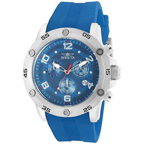 インヴィクタ インビクタ 腕時計 メンズ Invicta Pro Diver Chronograph Blue Dial Blue Polyurethane Mens Watch 20031インヴィクタ インビクタ 腕時計 メンズ