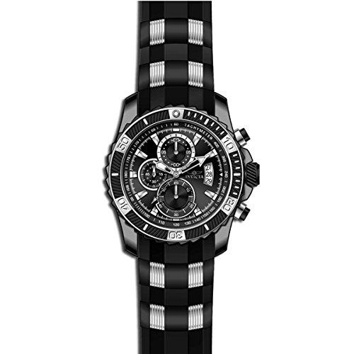 インヴィクタ インビクタ 腕時計 メンズ 【送料無料】Invicta Men's TI-22 Black Polyurethane Band Titanium Case Quartz Analog Watch 22455インヴィクタ インビクタ 腕時計 メンズ