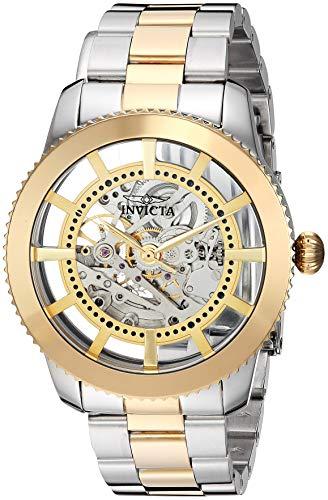 腕時計 インヴィクタ インビクタ メンズ 【送料無料】Invicta Men's Objet D Art Automatic-self-Wind Stainless-Steel Strap, Two Tone, 20.5 Casual Watch (Model: 27552)腕時計 インヴィクタ インビクタ メンズ