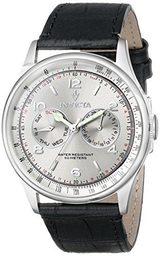 インヴィクタ インビクタ 腕時計 メンズ Invicta Men's 6749SYB Vintage Analog Display Swiss Quartz Black Watchインヴィクタ インビクタ 腕時計 メンズ