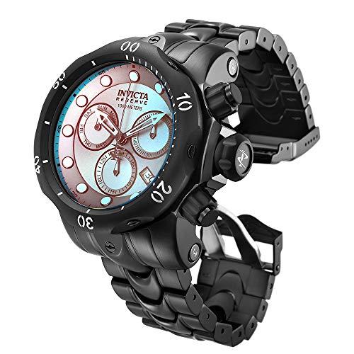 インヴィクタ インビクタ 腕時計 メンズ 【送料無料】Invicta Men's Reserve Quartz Watch with Stainless-Steel Strap, Black, 26.1 (Model: 25417)インヴィクタ インビクタ 腕時計 メンズ