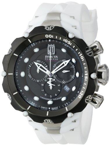 インヴィクタ インビクタ 腕時計 メンズ 【送料無料】Invicta Men's 14421 Jason Taylor Analog Swiss-Quartz White Watchインヴィクタ インビクタ 腕時計 メンズ