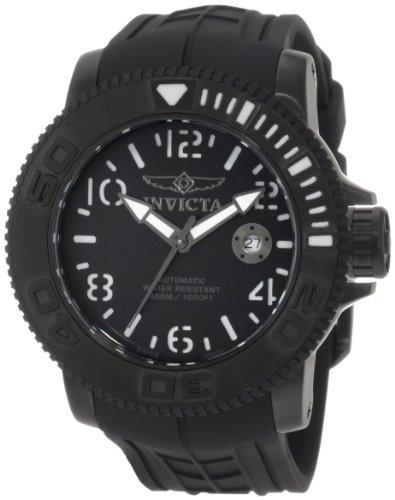 インヴィクタ インビクタ 腕時計 メンズ Invicta Men's 1073 Invicta II Automatic Black Dial Black Rubber Watchインヴィクタ インビクタ 腕時計 メンズ
