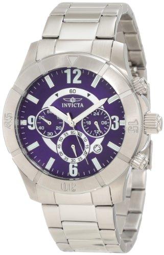 インヴィクタ インビクタ 腕時計 メンズ Invicta Men's 1421 Specialty Chronograph Blue Dial Watchインヴィクタ インビクタ 腕時計 メンズ