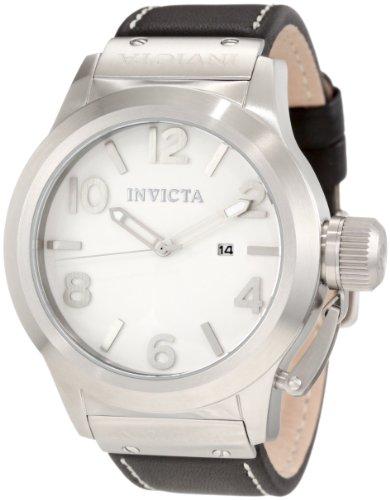インヴィクタ インビクタ 腕時計 メンズ 【送料無料】Invicta Men's 1134 Corduba White Dial Black Leather Watchインヴィクタ インビクタ 腕時計 メンズ