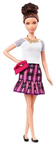 バービー バービー人形 ファッショニスタ 日本未発売 CLN64 Barbie Fashionistas Doll - Plum Plaidバービー バービー人形 ファッショニスタ 日本未発売 CLN64