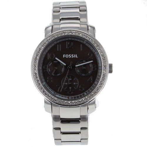 フォッシル 腕時計 レディース ES3086 Fossil Women's ES3086 Stainless Steel Analog Brown Dial Watchフォッシル 腕時計 レディース ES3086