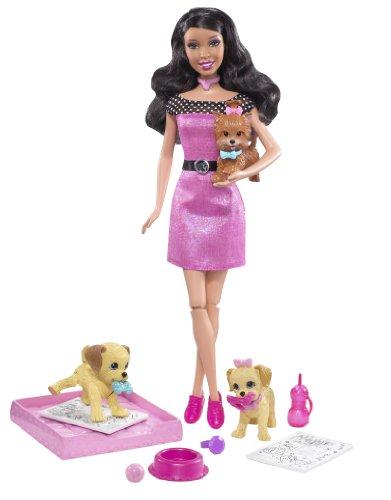 バービー バービー人形 日本未発売 Barbie Potty Training Pups (African-American)バービー バービー人形 日本未発売