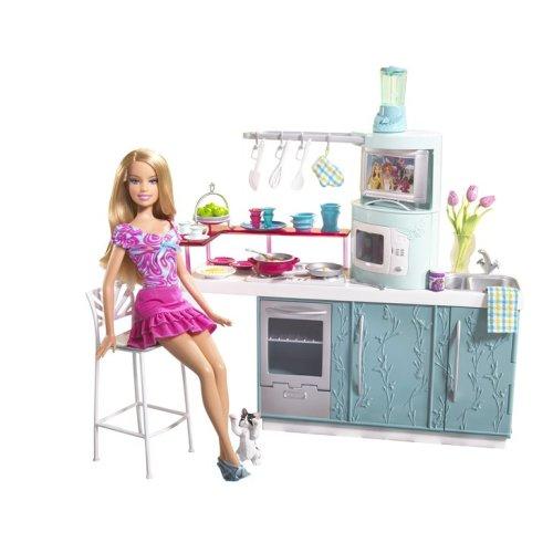 バービー バービー人形 日本未発売 プレイセット アクセサリ Barbie Doll & Kitchenバービー バービー人形 日本未発売 プレイセット アクセサリ