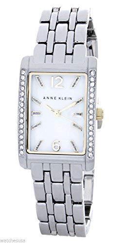 アンクライン 腕時計 レディース 【送料無料】Anne Klein Women's Mother of Pearl Dial Rectangular Bracelet Watch AK/1903MPTTアンクライン 腕時計 レディース