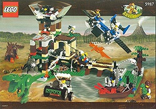 レゴ LEGO Adventurers Dino Island 5987 Dino Research Compoundレゴ