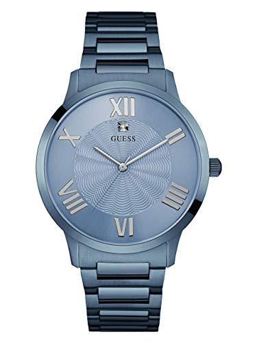 ゲス GUESS 腕時計 メンズ GUESS Factory Men's Blue Diamond Analog Watchゲス GUESS 腕時計 メンズ
