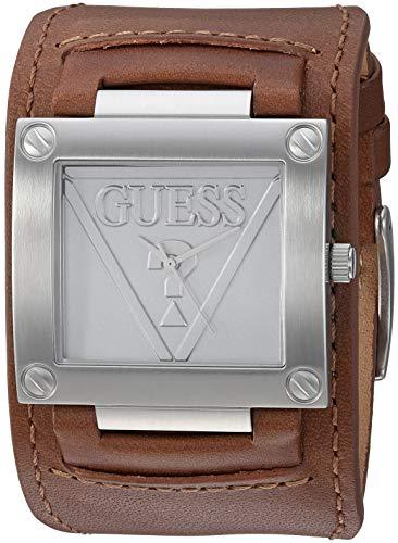 ゲス GUESS 腕時計 メンズ GUESS Men's Brown Logo Analog Watchゲス GUESS 腕時計 メンズ