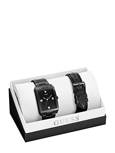 ゲス GUESS 腕時計 メンズ GUESS Factory Men's Black Analog Watch Box Setゲス GUESS 腕時計 メンズ