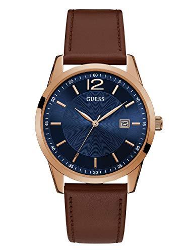 ゲス GUESS 腕時計 メンズ GUESS Men's Rose Gold-Tone & Brown Multifunction Watchゲス GUESS 腕時計 メンズ
