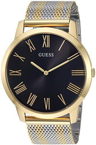 ゲス GUESS 腕時計 メンズ GUESS Men's Quartz Watch with Stainless-Steel Strap, Two Tone, 22 (Model: U1179G2)ゲス GUESS 腕時計 メンズ