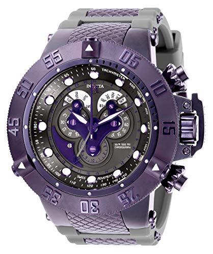 インヴィクタ インビクタ サブアクア 腕時計 メンズ 【送料無料】Invicta Men's Subaqua Stainless Steel Quartz Watch with Silicone Strap, Grey, 32.2 (Model: 27318)インヴィクタ インビクタ サブアクア 腕時計 メンズ