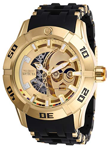 インヴィクタ インビクタ 腕時計 メンズ Invicta Star Wars Automatic Gold Dial Men's Watch 26550インヴィクタ インビクタ 腕時計 メンズ
