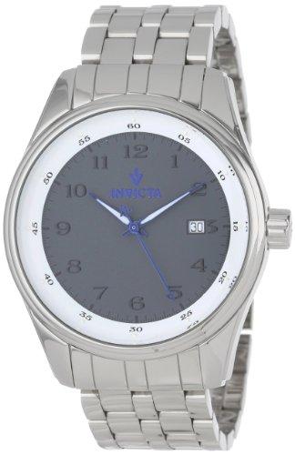 インヴィクタ インビクタ 腕時計 メンズ Invicta Men's 12187 Vintage Dark Grey Dial Stainless Steel Watchインヴィクタ インビクタ 腕時計 メンズ