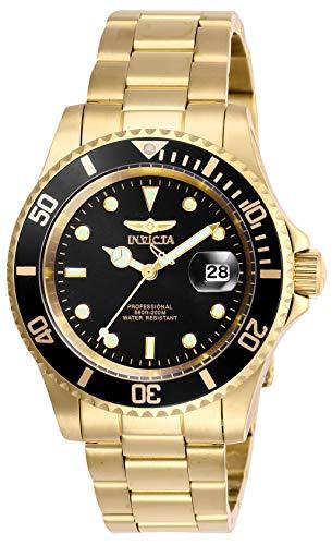 インヴィクタ インビクタ 腕時計 メンズ 【送料無料】Invicta Men's Pro Diver Quartz Watch with Stainless Steel Strap, Gold, 20 (Model: 26975)インヴィクタ インビクタ 腕時計 メンズ