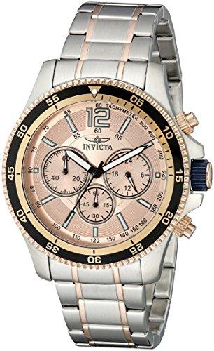 インヴィクタ インビクタ 腕時計 メンズ 【送料無料】Invicta Men's 13977 Specialty Analog Display Japanese Quartz Two Tone Watchインヴィクタ インビクタ 腕時計 メンズ