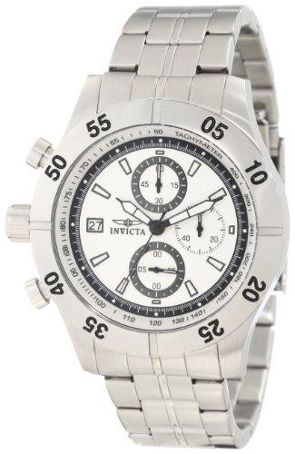 インヴィクタ インビクタ 腕時計 メンズ 【送料無料】Invicta Men's 11274 Specialty Chronograph Light Silver Textured Dial Stainless Steel Watchインヴィクタ インビクタ 腕時計 メンズ
