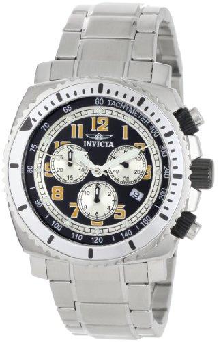 インヴィクタ インビクタ 腕時計 メンズ 【送料無料】Invicta Men's 0616 II Collection Chronograph Black Dial Stainless Steel Watchインヴィクタ インビクタ 腕時計 メンズ