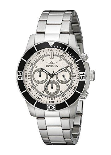 インヴィクタ インビクタ 腕時計 メンズ 【送料無料】Invicta Men's 12841 Specialty Chronograph Silver Dial Watchインヴィクタ インビクタ 腕時計 メンズ