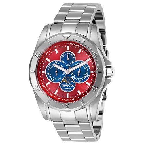 インヴィクタ インビクタ 腕時計 メンズ Invicta Specialty Red Dial Men's Watch 28596インヴィクタ インビクタ 腕時計 メンズ
