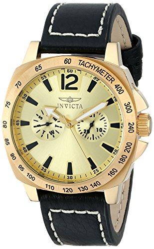 インヴィクタ インビクタ 腕時計 メンズ Invicta Men's 0856 II Collection Multi-Function Gold Dial Watchインヴィクタ インビクタ 腕時計 メンズ