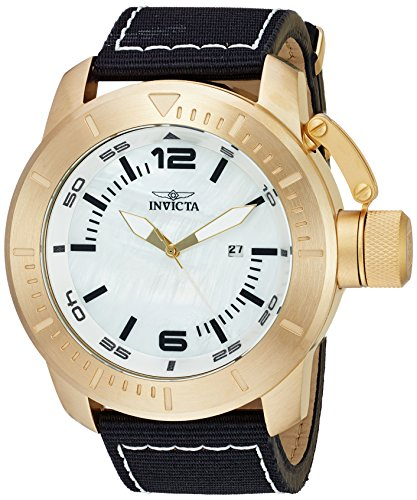 インヴィクタ インビクタ 腕時計 メンズ Invicta Men's Corduba Quartz Watch with Nylon Strap, Black, 26 (Model: 23436)インヴィクタ インビクタ 腕時計 メンズ